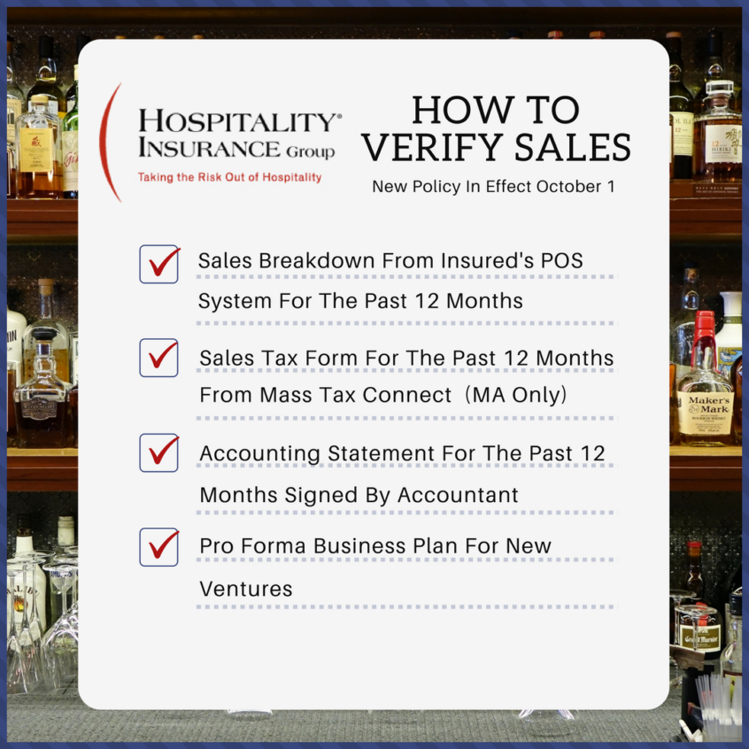 How To Verify Restaurant Sales With Hospitality Insurance Group