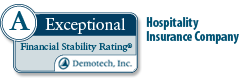 A Exceptional Rating Hospitality Insurance Company