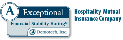 A Exceptional Rating Hospitality Mutual Insurance Company