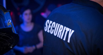 security at bar photo